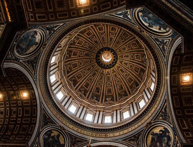 Cúpula de San Pedro en Roma