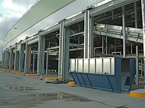 Centri di compostaggio  a Londra. 30 porte modello IPSTMO per il massimo grado di servizio.