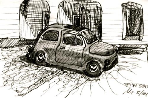 Fiat 500 cinquecento by manfred schloesser