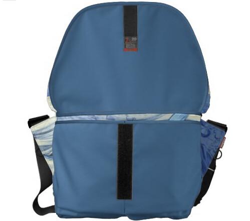 Bolso Pez Azul japonés