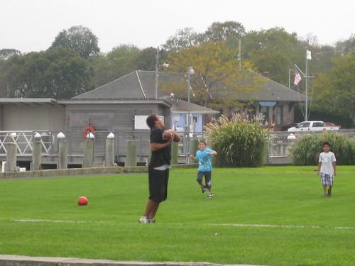 Greenport: Football in the park