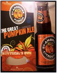 Pumpkin Ale Season