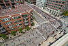 2012 Chicago Marathon from above by cshimala