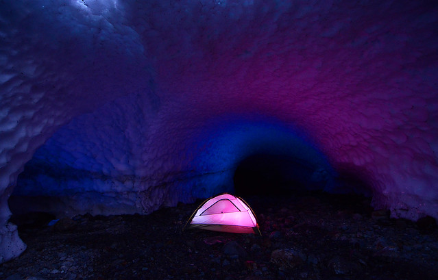 pink and blue cave 2086