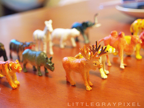 DIY: Golden Animal Menagerie