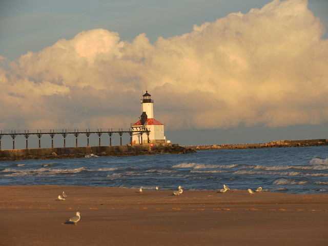 Michigan city indiana east pierhead lighthouse 1904 flickr photo sharing for Olive garden michigan city indiana