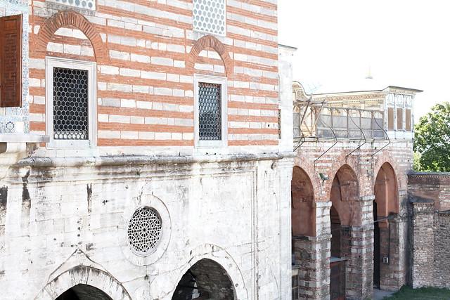 harem, topkapi palace, istanbul
