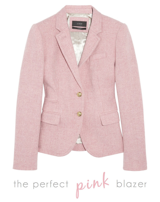 the perfect pink blazer