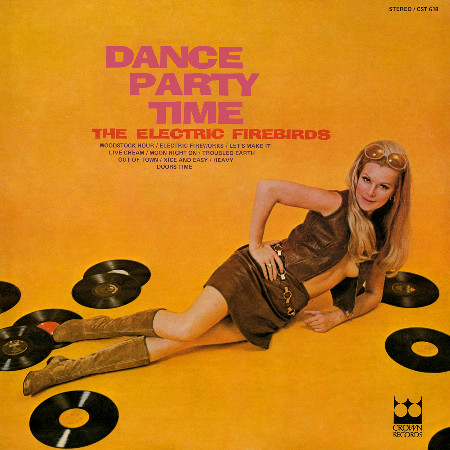 The Electric Firebirds - Dance Party Time