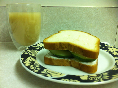 Cucumber Sandwich And Tea