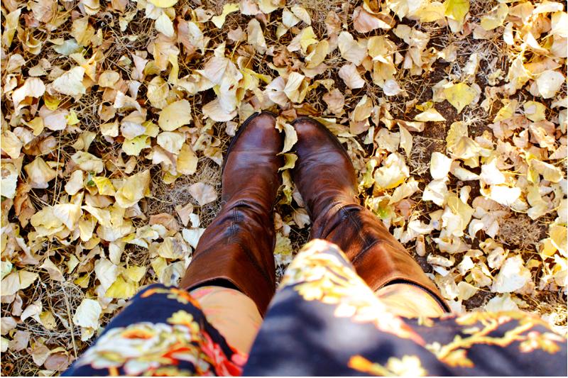 {crunchy} leaves