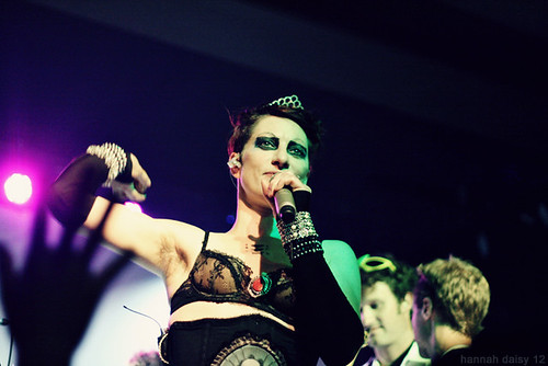 Amanda Palmer and The Grand Theft Orchestra @ Wonder Ballroom, Portland, USA 28/9/12