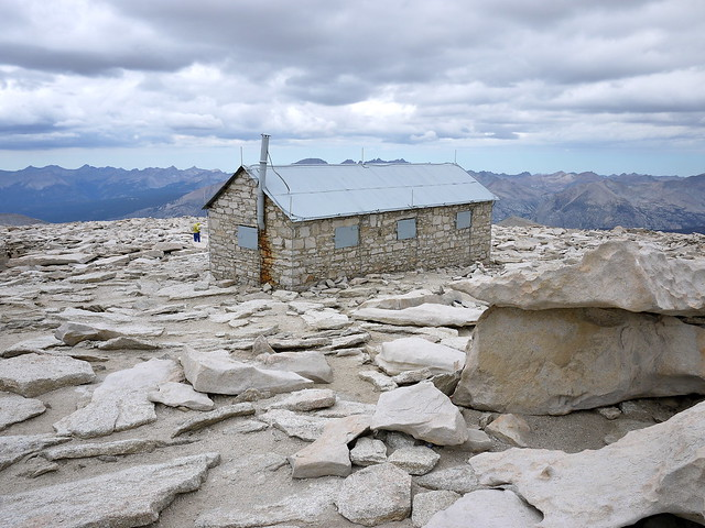 Smithsonian Hut at Mount Whitney Summit