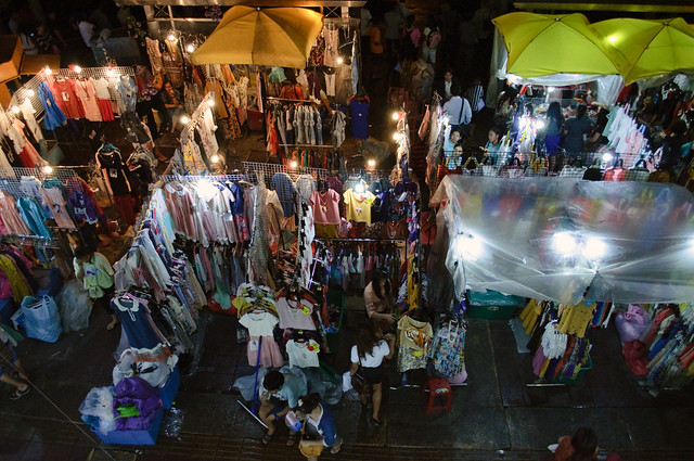 Night market, near Victory Monument, Bangkok