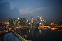 General view of Marina Bay and Singapore Central Business District