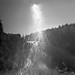 Sun Flares at Snoqualimie Falls by CraftyMoni