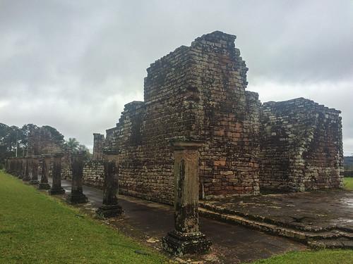 Trinidad: les ruines de l'église