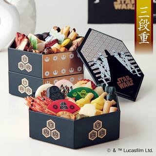 就讓原力陪你過年吧!~超奢華的《星際大戰》日式年菜 おせち・スター・ウォーズ・三段重