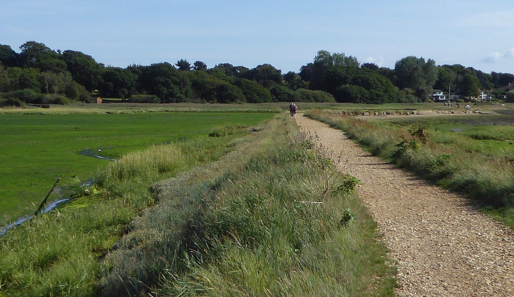 Hamble marshes Botley to Netley walk