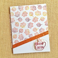 Fall Coffee Lovers Blog Hop - Joy Clair Stamps