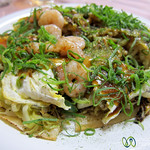 Hiroshima Style Okonomiyaki - Japan