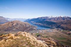 Frankton and Queenstown from Remarkables