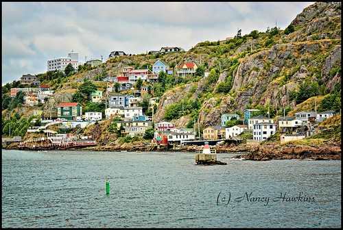 Outer Battery, St. John's NL by Nancy Hawkins