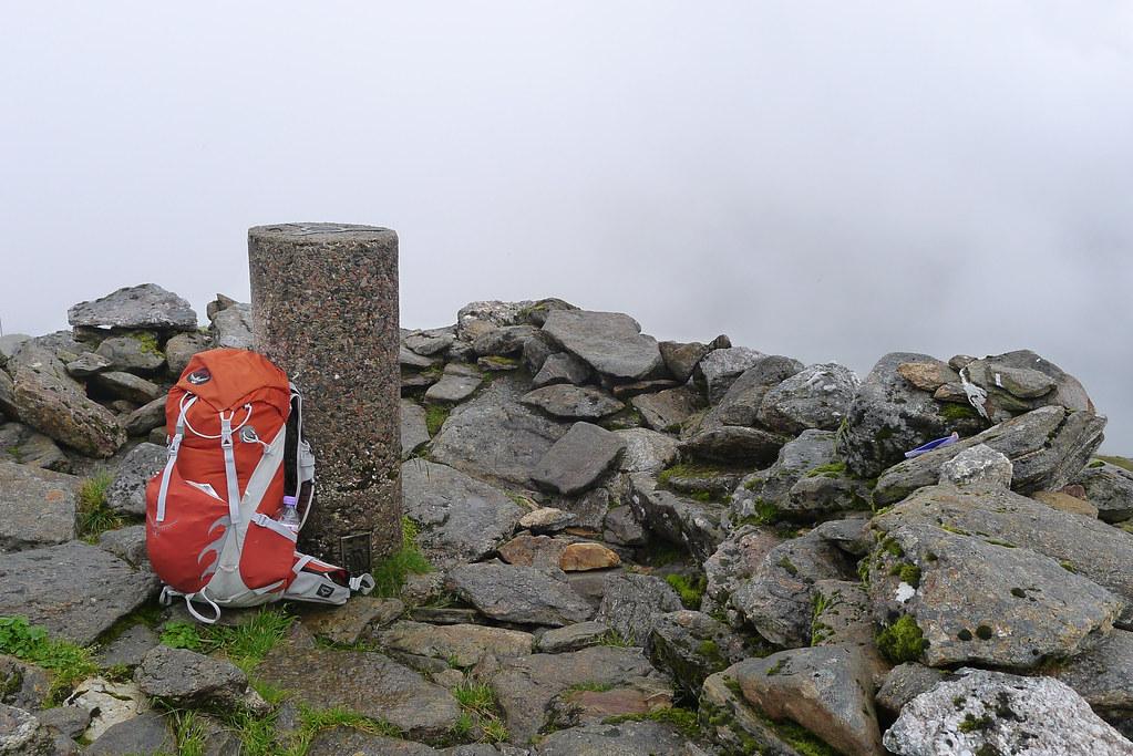 Summit of Sgurr nan Coireachan