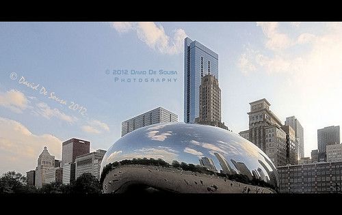"The Cloud Gate (a.k.a. ""The Bean"")"