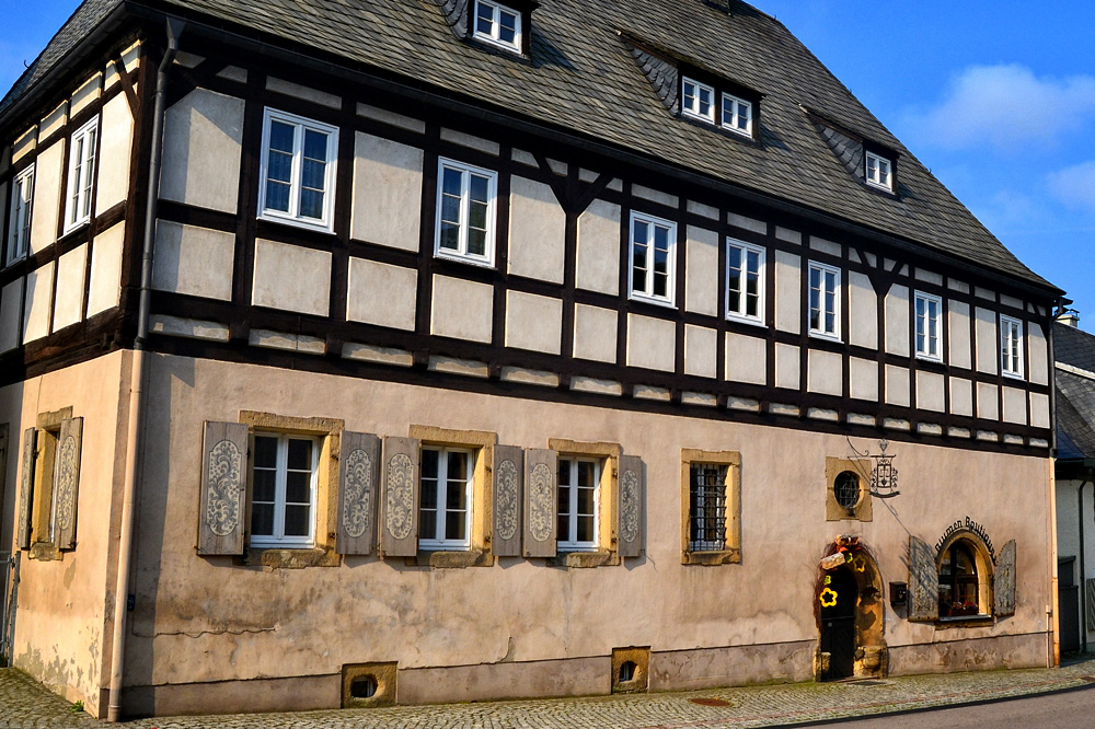 Saitenmacherhaus in Geising