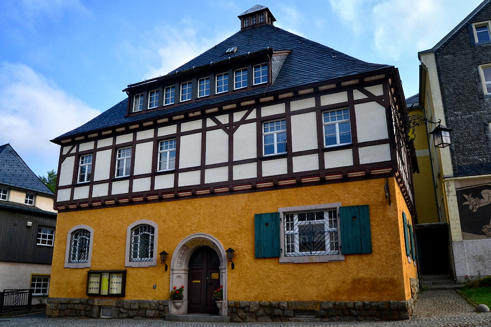 Rathaus in Geising