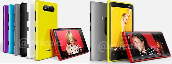 Nokia Lumia 820 и 920 PureView