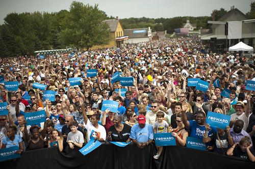 Barack Obama in Des Moines, IA - September 1st