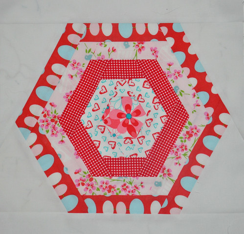 3x6 bee block for Alison