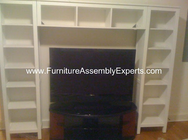 Ikea Faktum Legs Installation ~ IKEA Hemnes Entertainment Center assembly service in Washington DC