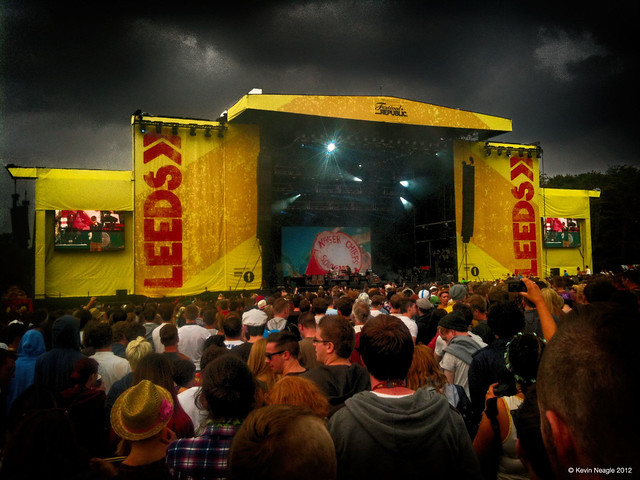 Kaiser Cheifs at Leeds Festival 2012 Main Stage
