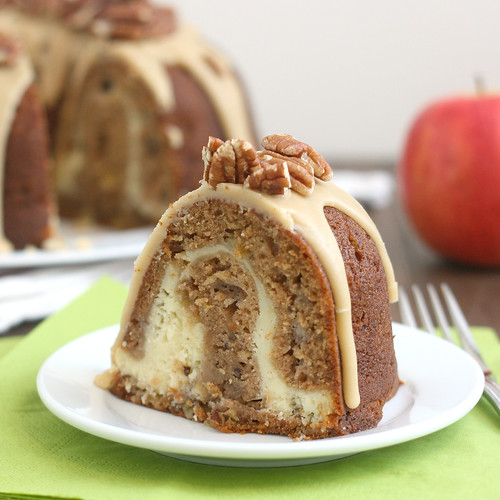 Apple-Cream Cheese Bundt Cake | Tracey's Culinary Adventures