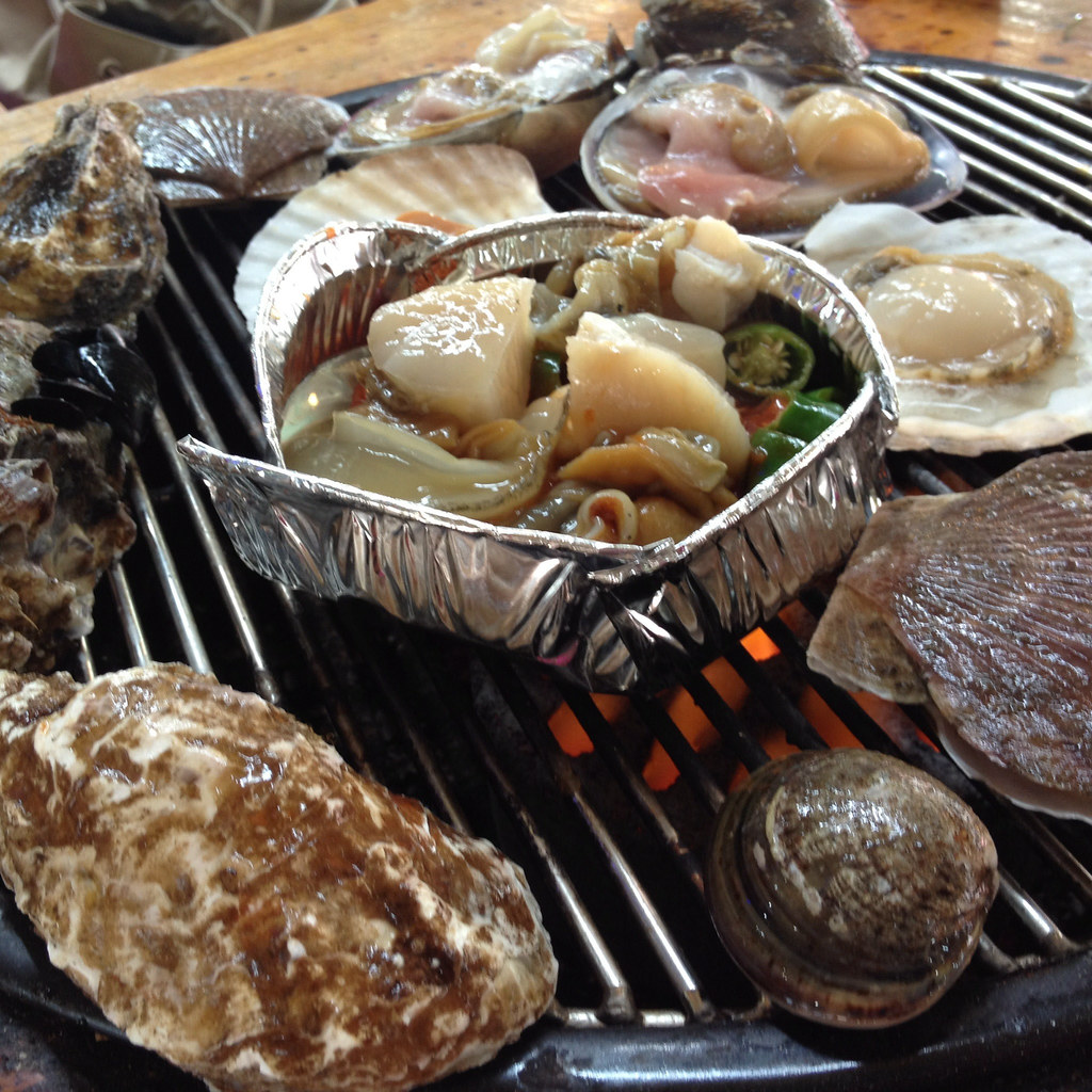 Seafood Lunch at Daecheon Beach