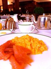 ブラウンズホテル、ロンドン 朝食