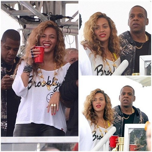 Beyonce Clothing Style - Brooklyn Nets