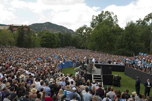 Barack Obama in Boulder - September 2nd