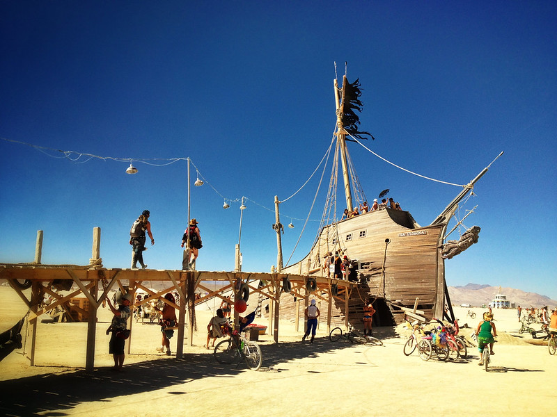Pier 2 at Burning Man 2012