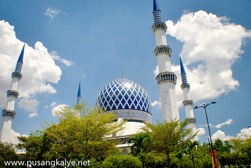 the BLUE MOSQUE_Malaysia