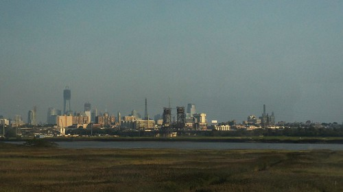 New York from the Meadowlands