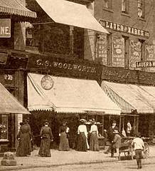 C. S. Woolworth - 319 Lackawanna Ave, Scranton, PA c1881-1900