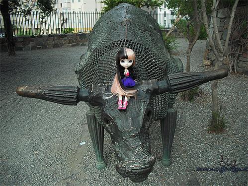 Kerli en el toro
