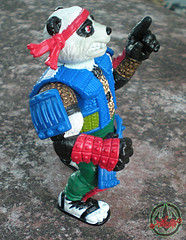 TEENAGE MUTANT NINJA TURTLES :: PANDA KHAN / SCRAMBLED VARIANT xv (( 1990 ))