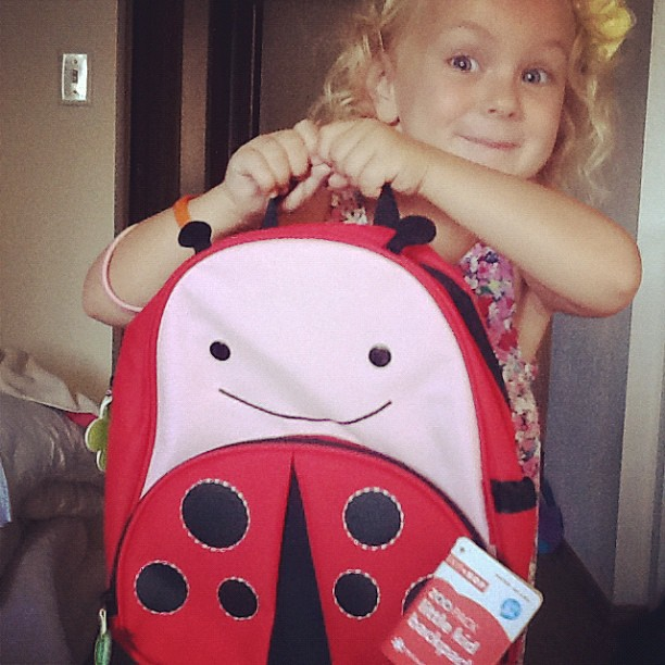 New backpack for preschool!