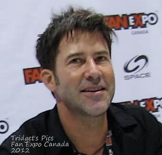 Joe Flanigan at Fan Expo Canada