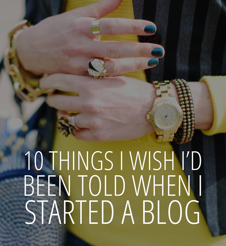 10 Things I Wish I'd Been Told When I Started A Blog